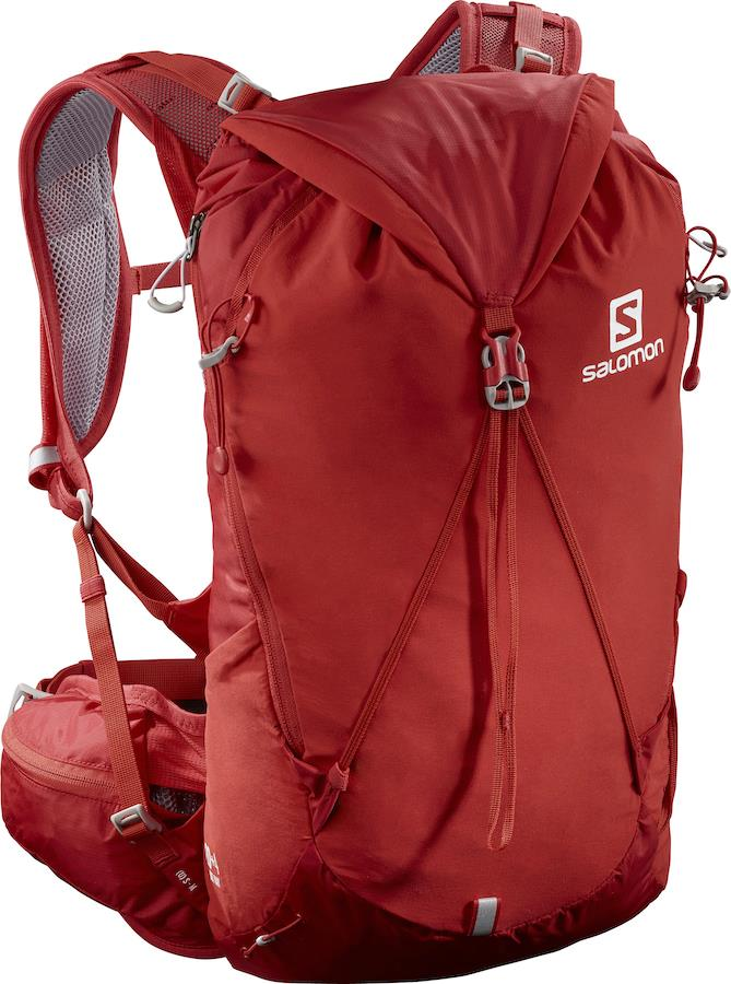 Salomon Out Day 20+4 Trekking/Hiking Backpack, S/M Goji Berry/Alloy