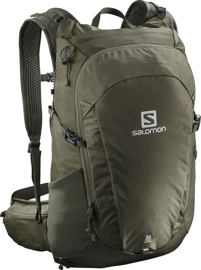 Salomon Trailblazer 30 Hiking Backpack, 30L Martini Olive