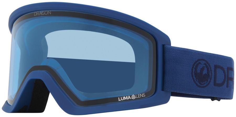 Dragon DX3 OTG LL Blue Snowboard/Ski Goggles, M Light Navy