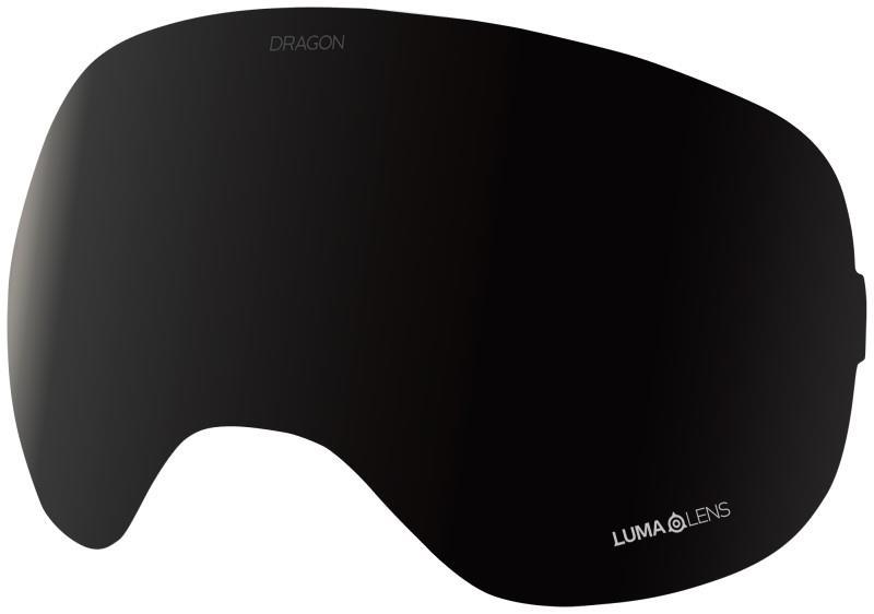 Dragon X2 Ski/Snowboard Goggle Spare Lens, OS LumaLens Midnight