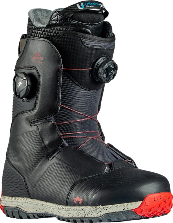 Rome Libertine Boa Snowboard Boots, UK 9 Black 2021