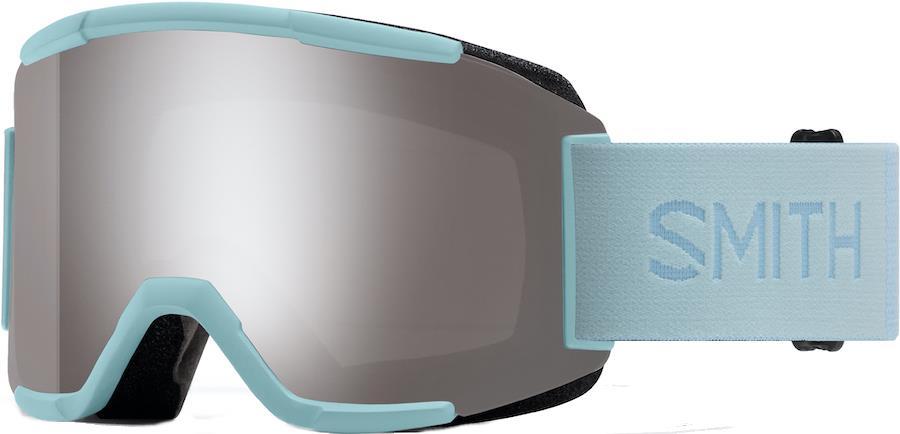 Smith Squad CP Sun Platinum Snowboard/Ski Goggles, M Polar Blue