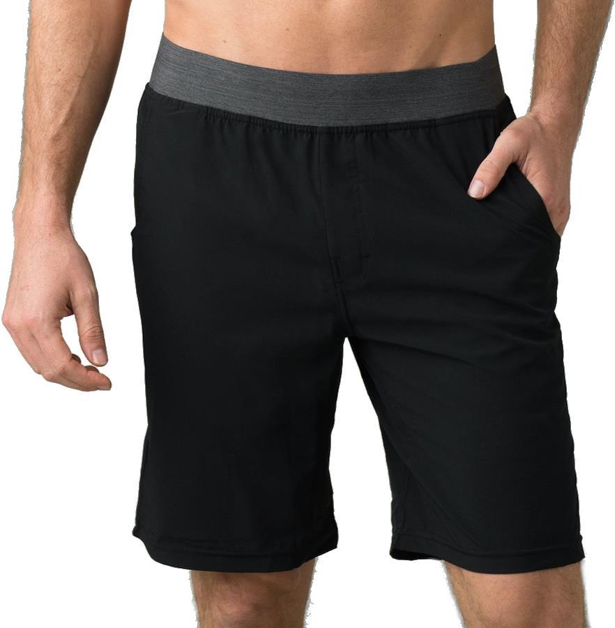 Prana Super Mojo II Yoga/Bouldering/Climbing Shorts, XL Black
