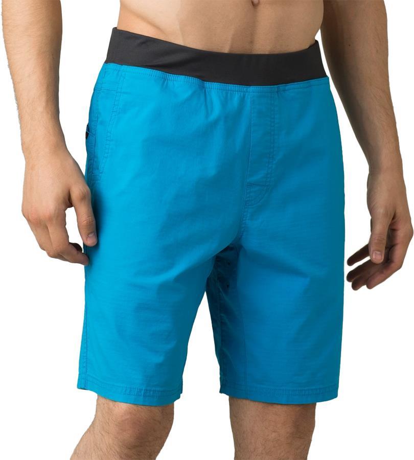 Prana Moaby Men's Climbing Shorts, M Tropical Blue