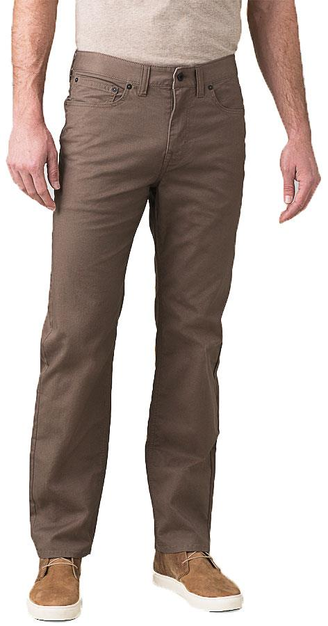Prana Adult Unisex Ulterior Regular Men's Hiking/Walking Trousers, L Mud