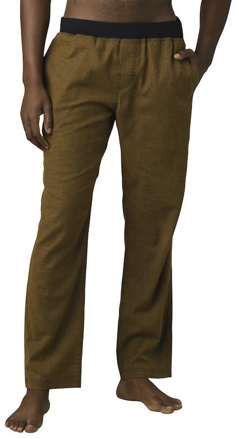 Prana Adult Unisex Vaha Straight Climbing/Yoga Trousers, S Dark Walnut