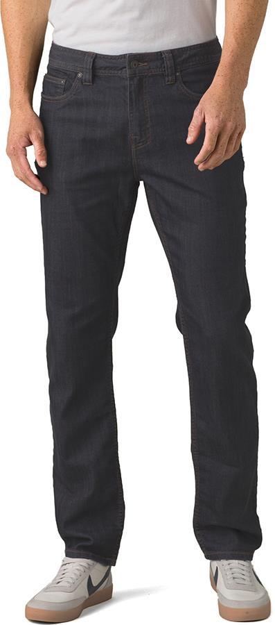Prana Bridger Jeans Short Hiking/Climbing Trousers, XS Denim