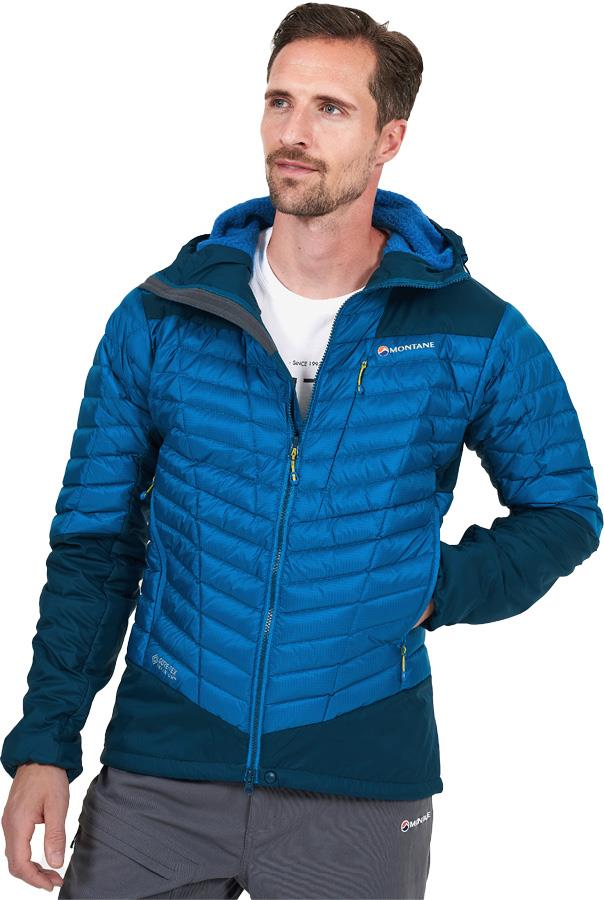 Montane Axis Alpha Insulated Gore-Tex Jacket, S Electric Blue