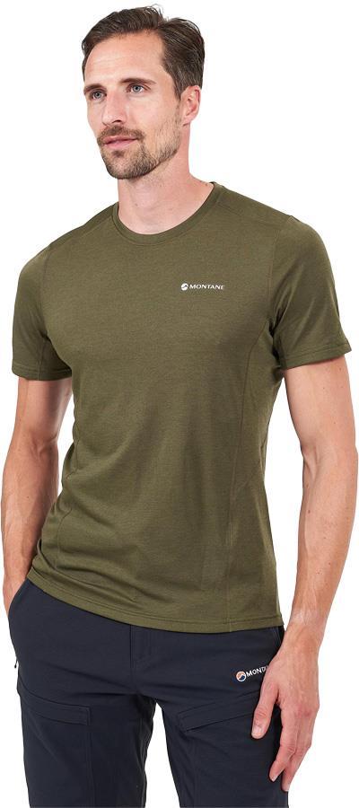 Montane Dart Technical Short Sleeve T-Shirt, XL Kelp Green