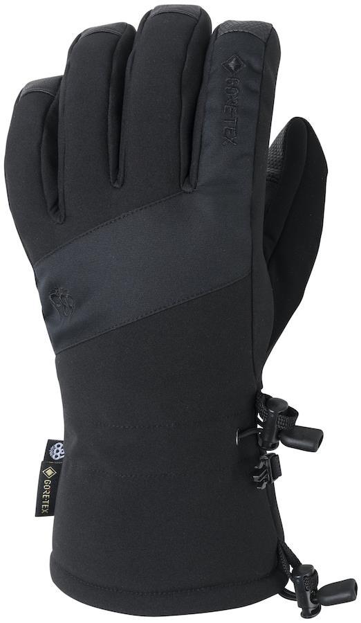686 GORE-TEX Linear Snowboard/Ski Gloves, S Black
