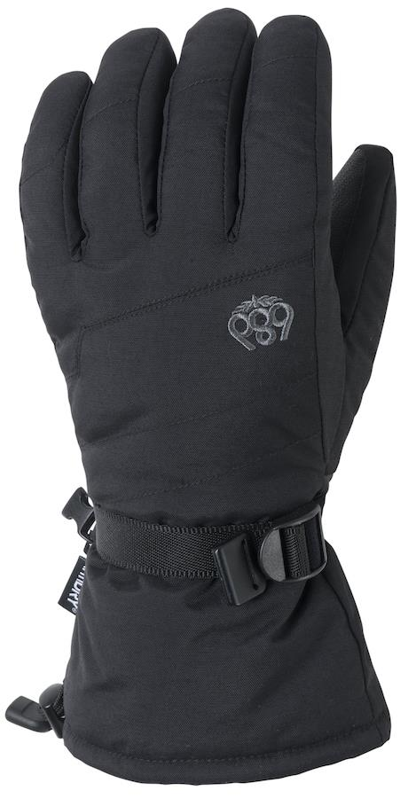686 Infinity Gauntlet Snowboard/Ski Gloves, M Black