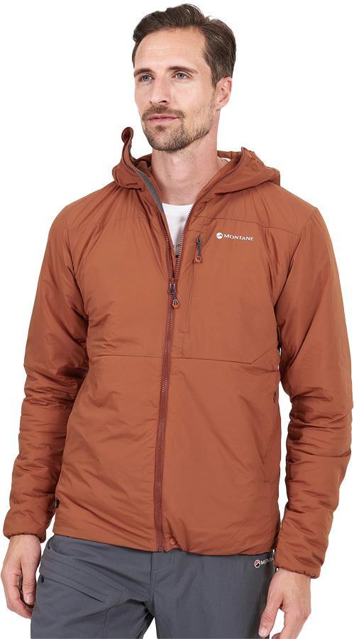Montane Fireball Men's Synthetic Insulated Jacket, L Oxide Orange