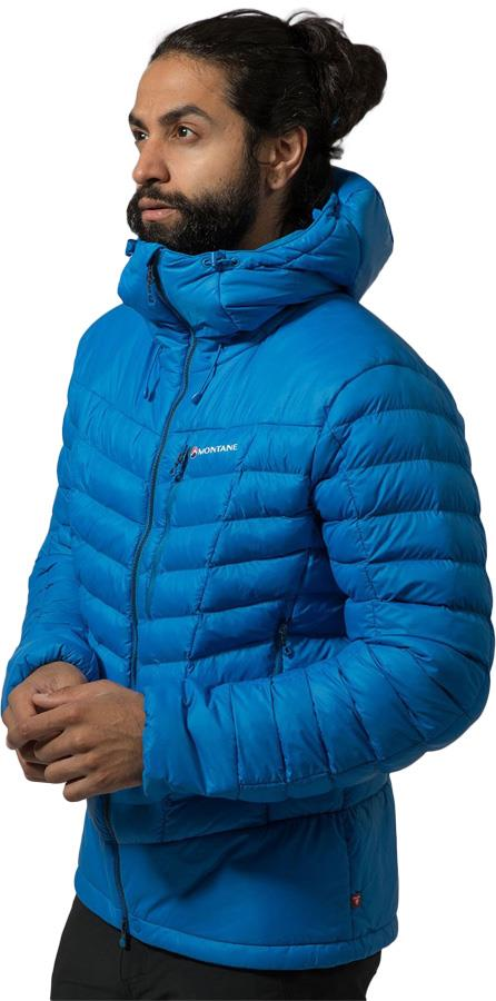 Montane Adult Unisex Ground Control Insulated Primaloft® Jacket, S Electric Blue