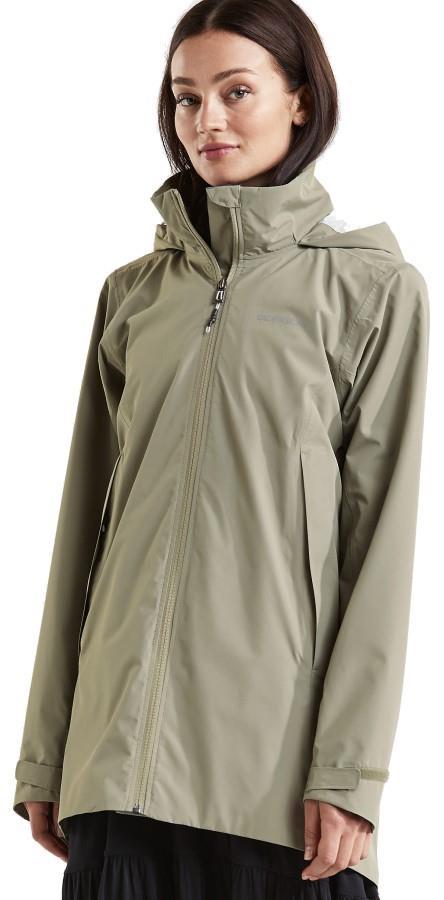 Didriksons Noor 3 Women's Waterproof Parka Jacket UK 16 Mistel Green