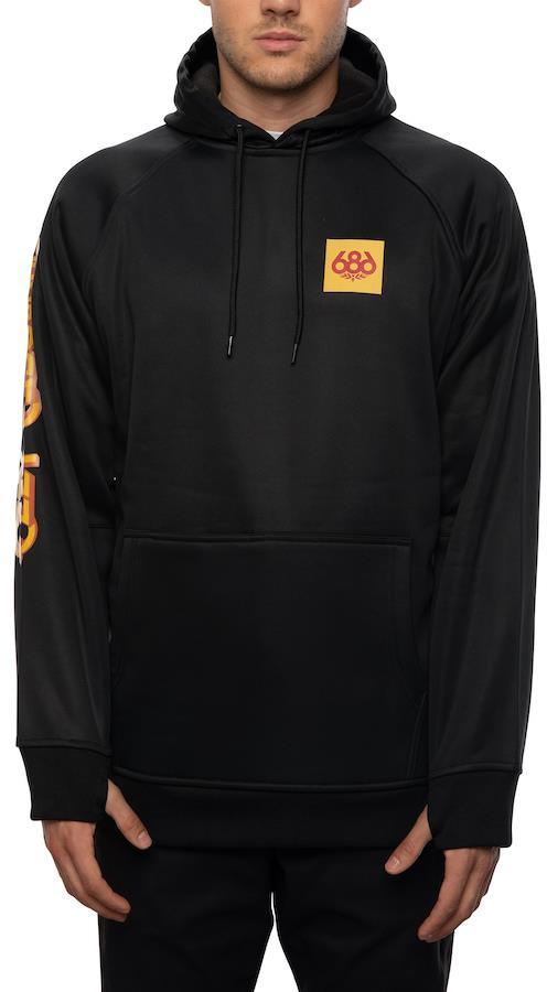 686 Bonded Fleece Men's Pullover Hoodie, M Ozzy Osbourne