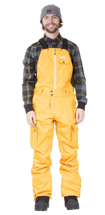 Picture Charles Ski/Snowboard Bib Pants, M Yellow