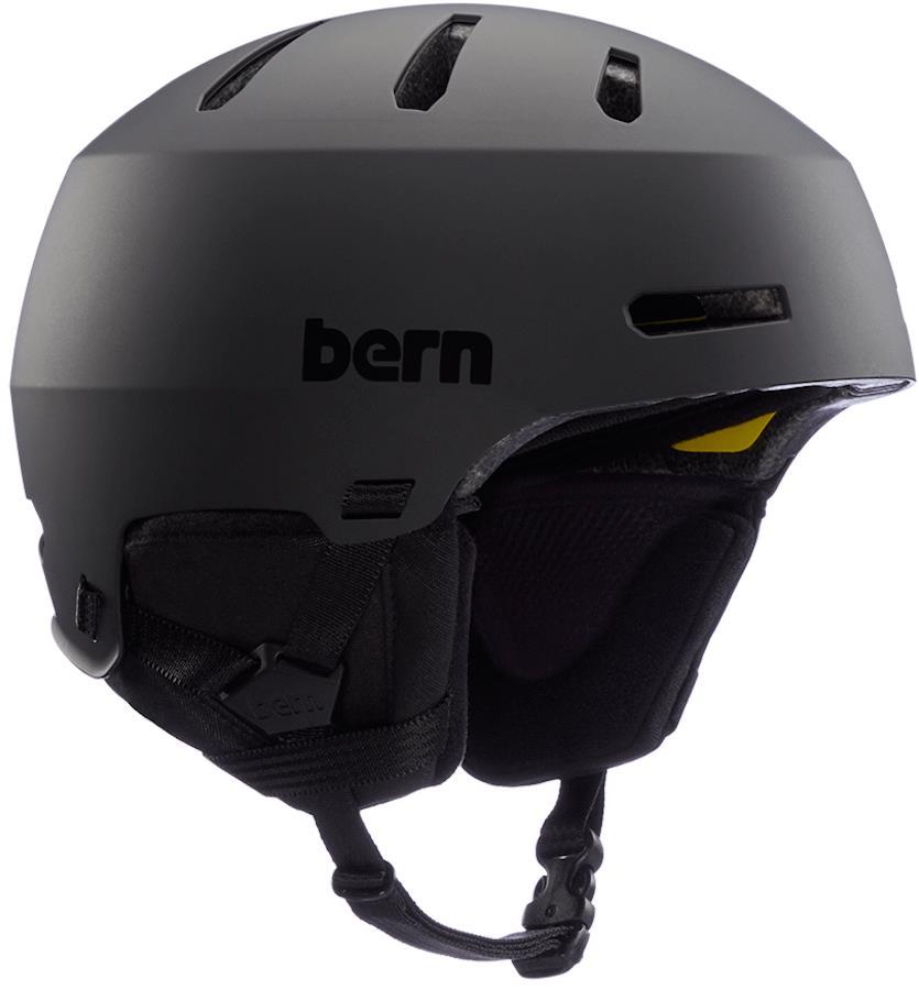 Bern Macon 2.0 MIPS Ski/Snowboard Helmet, S Matte Black