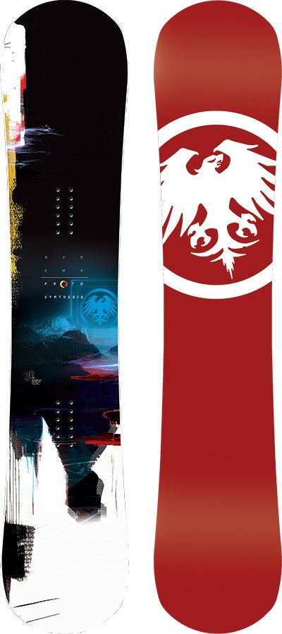 Never Summer Proto Synthesis Hybrid Camber Snowboard, 161cm