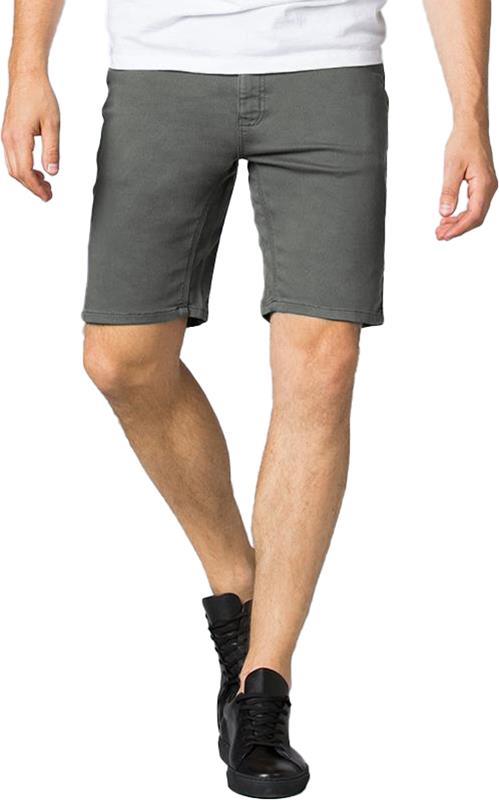 "DU/ER (DUER) No Sweat Slim Fit Stretch Cotton Shorts, 30"" Gull"