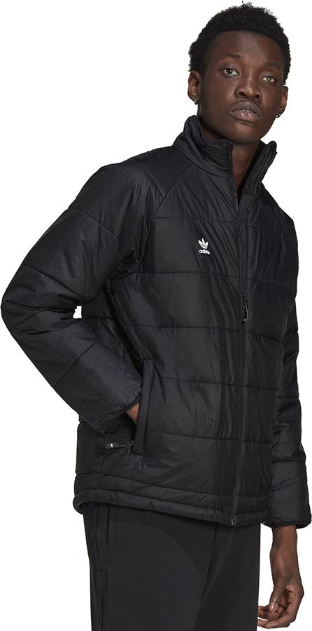 Adidas Midlayer Ski/Snowboard Insulated Jacket, M Black