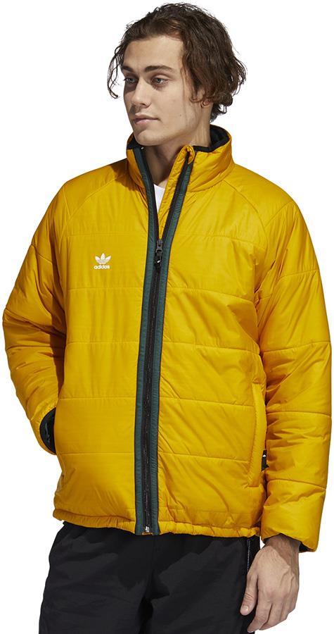 Adidas Midlayer Ski/Snowboard Insulated Jacket, XL Yellow