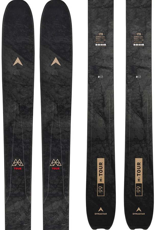 Dynastar M-Tour 99 Ski Only Skis, 178cm Black/Red