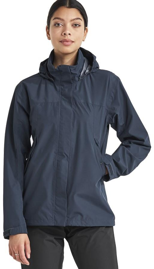 Didriksons Grand Women's Waterproof Jacket, UK 10 Navy