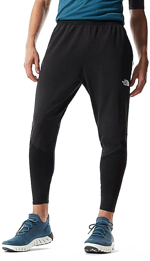 North Face Active Trail Hybrid Jogger Running Trousers M TNF Black
