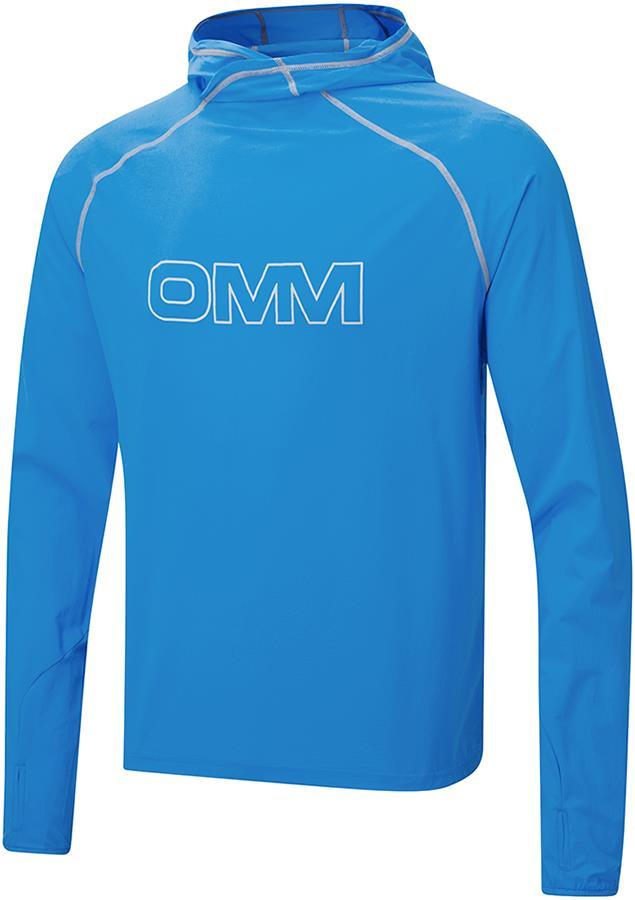 OMM Breeze Soft Shell Hoody, S Blue/Grey