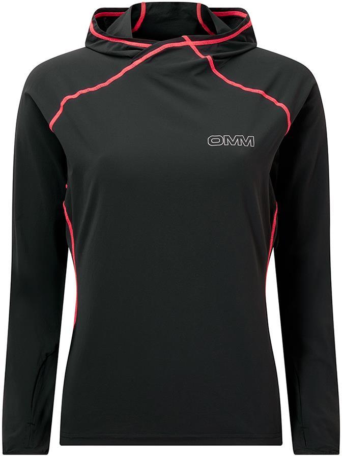 OMM Breeze Women's Soft Shell Hoody, UK 14 Black/Pink
