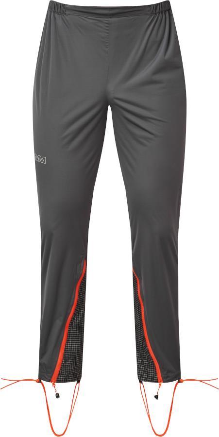 OMM Men's Kamleika Waterproof Running Fitness Pants, S Grey