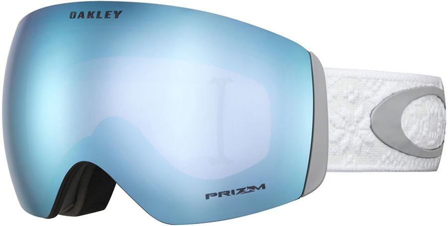 Oakley Flight Deck Prizm Sapphire Ski/Snowboard Goggles, L Torstein