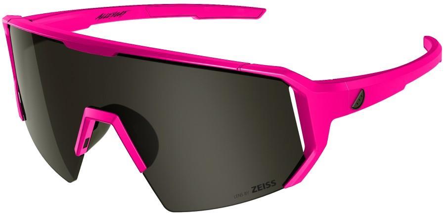Melon Adult Unisex Alleycat Smoke Performance Sunglasses, M/L Pink/Black