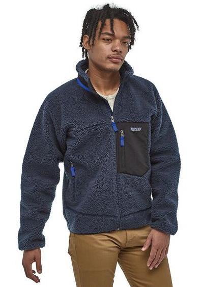 Patagonia Classic Retro-X Full Zip Fleece Jacket XL New Navy