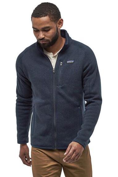 Patagonia Better Sweater Full Zip Fleece Jacket, L New Navy