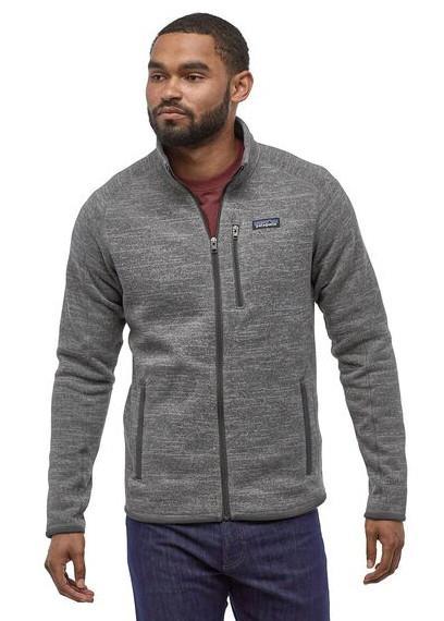 Patagonia Better Sweater Full Zip Fleece Jacket, S Nickel