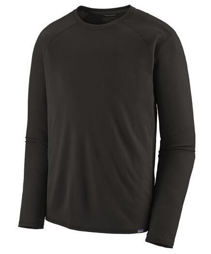 Patagonia Capilene Midweight Thermal Long Sleeve Crew, XL Black