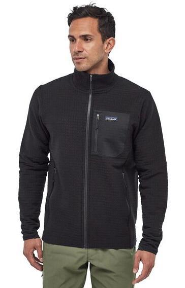 Patagonia R2 TechFace Softshell Jacket, L Black