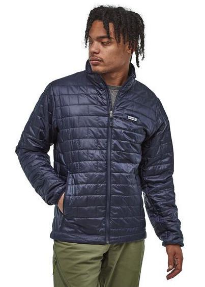 Patagonia Nano Puff PrimaLoft Insulated Jacket, S Classic Navy