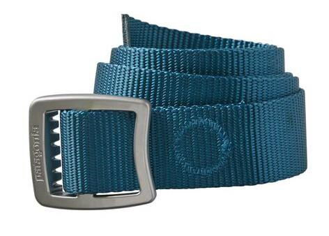 Patagonia Tech Web Adjustable Belt, OS Crater Blue