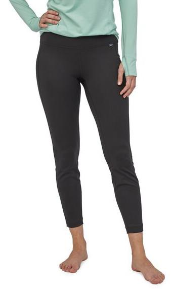 Patagonia Capilene Midweight Women's Thermal Bottoms, S All Black
