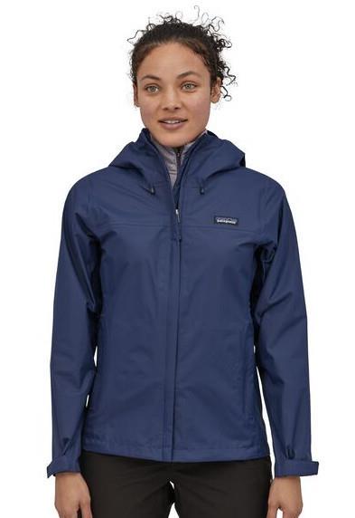 Patagonia Womens Torrentshell 3l Women's Waterproof Jacket, Uk 14 Navy