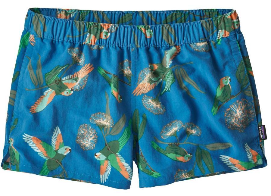 Patagonia Women's Barely Baggies Swim Shorts UK 14 Parrots
