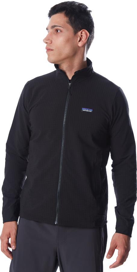 Patagonia R1 TechFace Softshell Jacket, XL Black