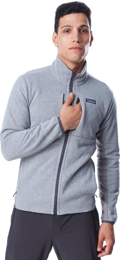 Patagonia Lightweight Better Sweater Fleece Jacket L Feather Grey