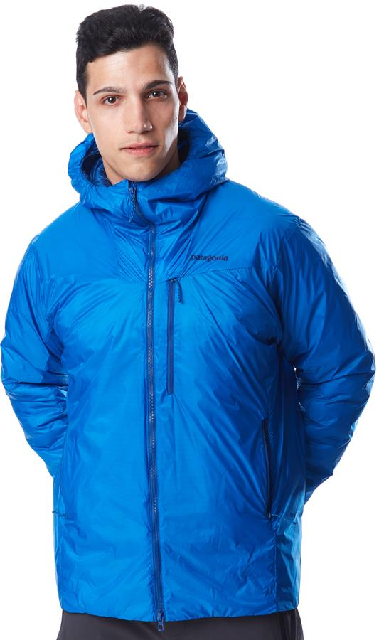 Patagonia DAS Light Hoody Men's Insulated Jacket, XL Andes Blue