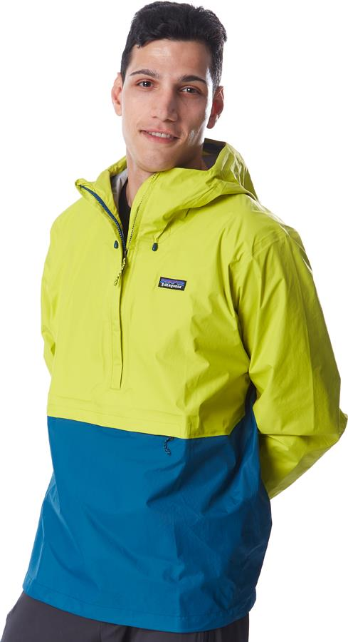 Patagonia Adult Unisex Torrentshell 3l Pullover Waterproof Jacket, Xl Chartreuse