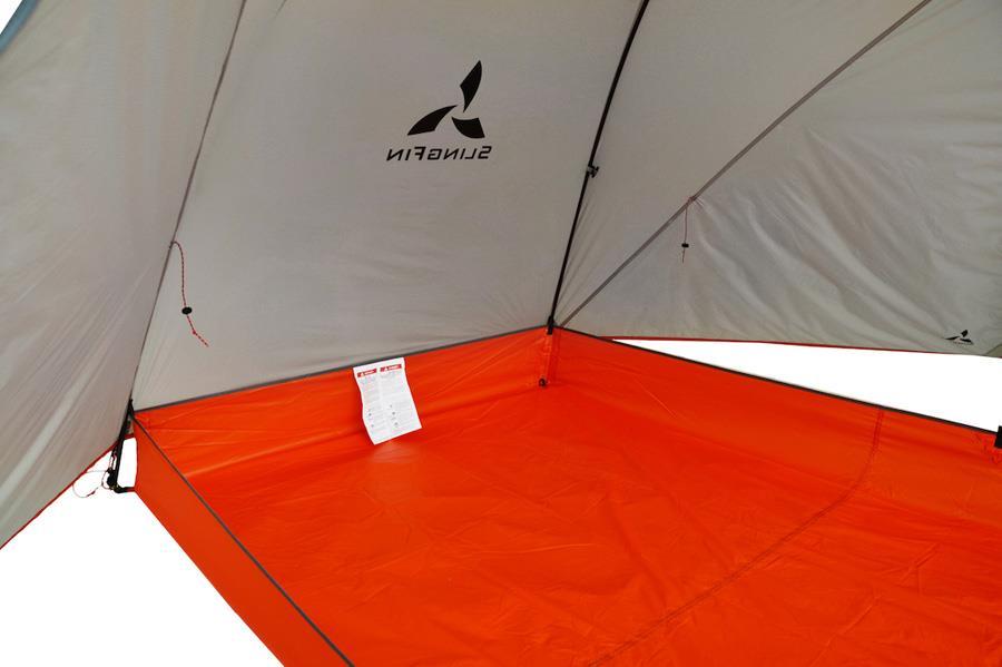 Slingfin Portal Tub Footprint Lightweight Tent Groundsheet, Orange