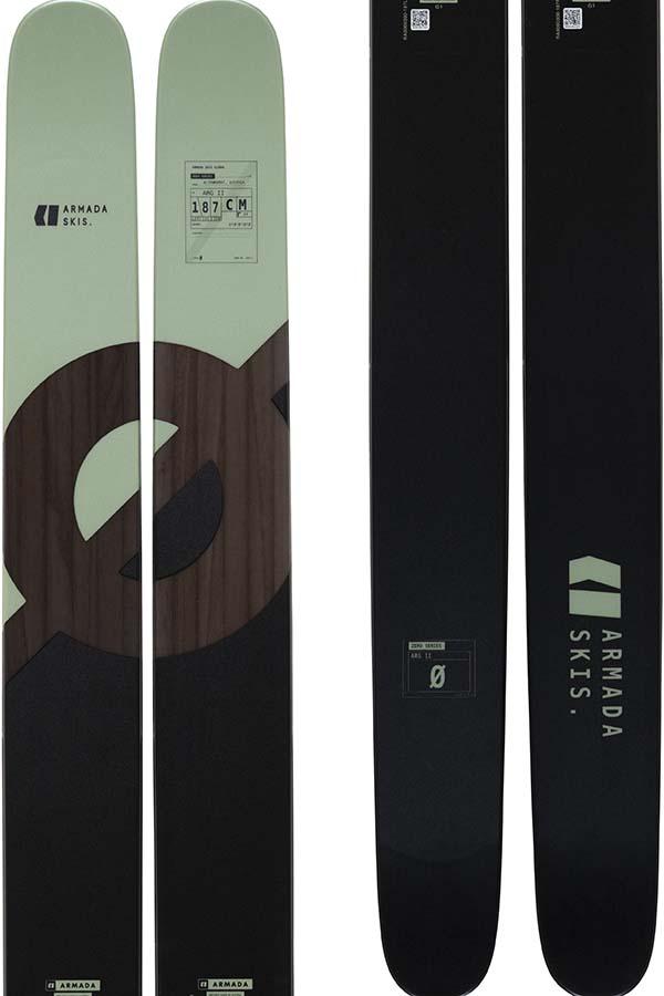 Armada ARG II Skis, 187cm Black 2022