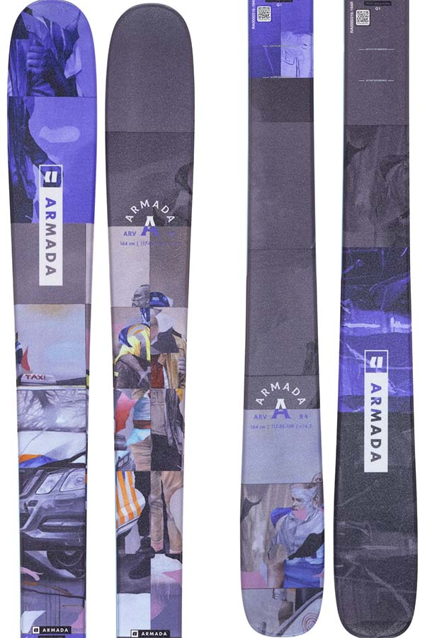 Armada ARV 84 Skis 171cm, Blue/Grey, Ski Only, 2022